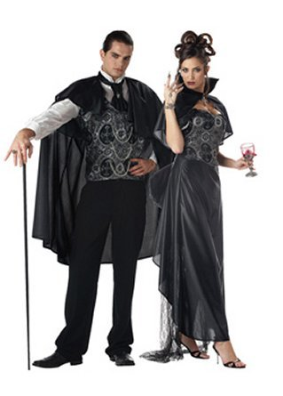 Victorian Vampire Couple Costumes