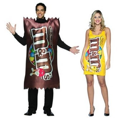 M & M Couples Costumes