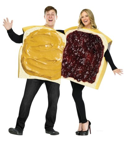 Peanut Butter and Jelly Couples costumes